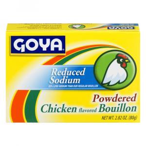 Goya Reduced Sodium Chicken Flavored Powdered Bouillon