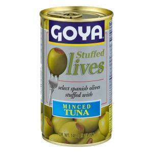 Goya Tuna Stuffed Manzanilla Olives