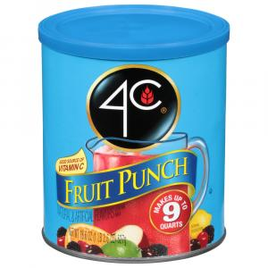 4C Fruit Punch Drink Mix