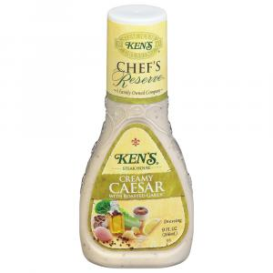 Ken's Creamy Caesar with Roasted Garlic Dressing