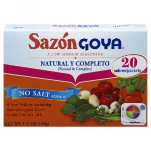 Goya Natural Complete Sazon