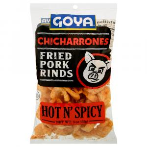 Goya Chicharrones Hot & Spicy