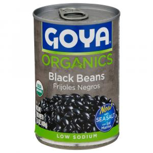 Goya Organic Low Sodium Black Beans