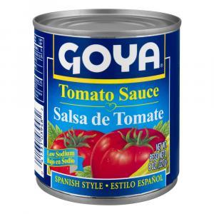 Goya Tomato Sauce Low Sodium Spanish Style