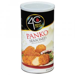 4C Panko Seasoned Bread Crumbs