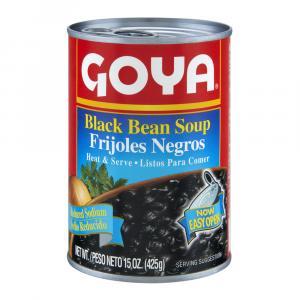Goya Reduced Sodium Black Bean Soup