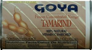 Goya Tamarindo Juice