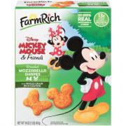 Farm Rich Mickey Mouse & Friends Breaded Mozzarella Shapes