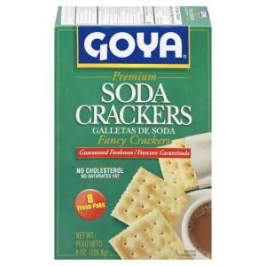 Goya Soda Crackers