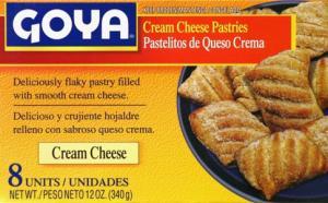 Goya Cream Cheese Pastries