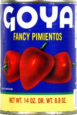 Goya Fancy Red Pimientos