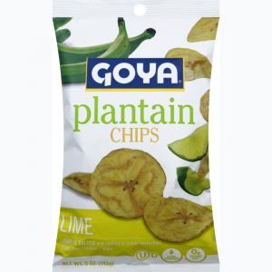 Goya Lime Plantain Chips