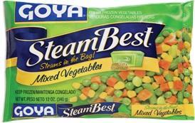 Goya Frozen Steam Best Mixed Vegetables