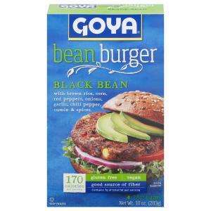Goya Black Bean Burgers