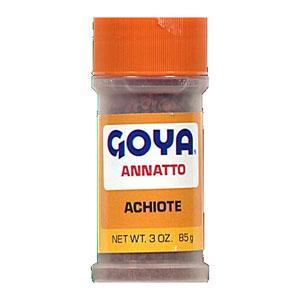 Goya Achiote (Annatto Seeds)