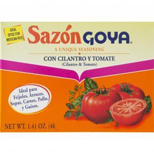 Goya Sazon Cilantro Tomato