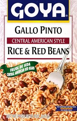 Goya Central American Style Rice and Red Beans