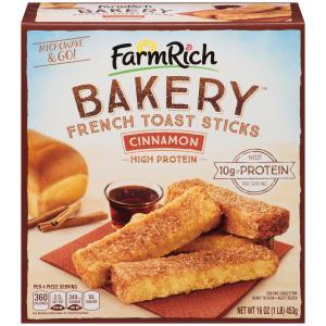 Farm Rich French Toast Sticks Cinnamon