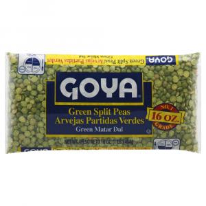 Goya Dry Green Split Peas