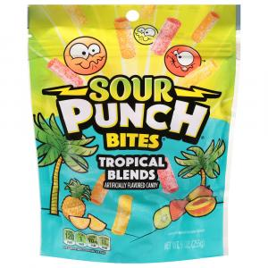 Sour Punch Tropical Blends Bites
