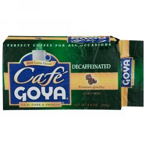 Goya Decaf Brick Coffee