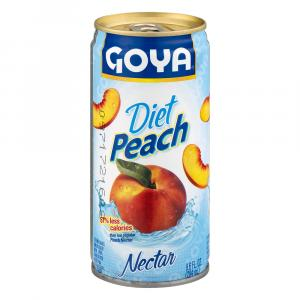 Goya Diet Peach Nectar