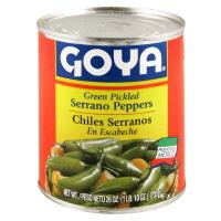 Goya Serrano Peppers
