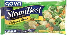 Goya Frozen Steam Best California Blend Vegetables
