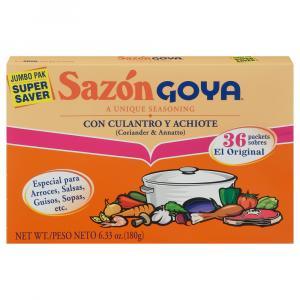 Goya Sazon Cilantro Achiote