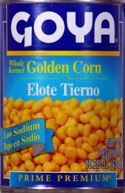 Goya Low Sodium Whole Kernel Golden Corn