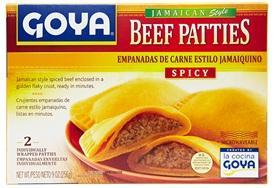 Goya Jamaican Style Spicy Beef Patties