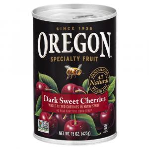 Oregon Dark Pitted Cherries