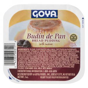 Goya Bread Pudding