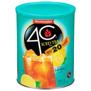 4C Decaf Lemon Iced Tea Mix
