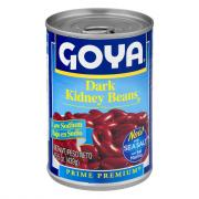 Goya Low Sodium Dark Red Kidney Beans