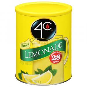 4C Lemonade Mix