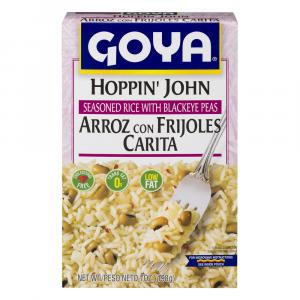 Goya Hoppin'John Seasoned Rice With Blackeye Peas
