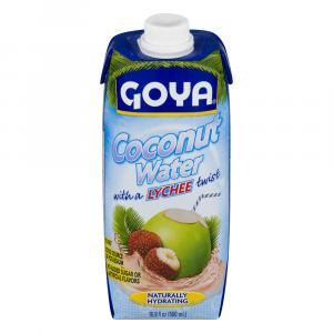 Goya Coconut Water with Lychee