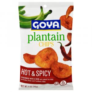 Goya Hot & Spicy Plantain Chips