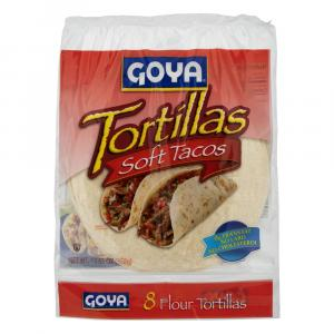 Goya Small Flour Tortillas