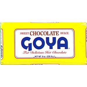 Goya Chocolate Bars