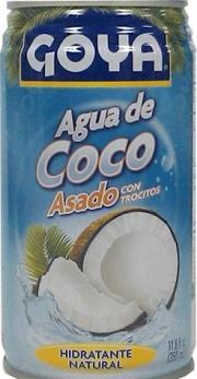 Goya Roasted Coconut Juice
