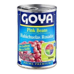 Goya Low Sodium Pink Beans