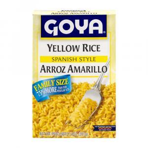 Goya Yellow Rice Spanish Style Family Size