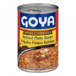 Goya Refried Chipotle Beans
