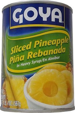 Goya Sliced Pineapple