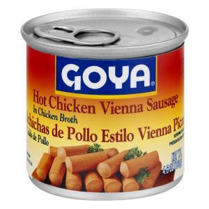 Goya Vienna Sausages in Hot Sauce