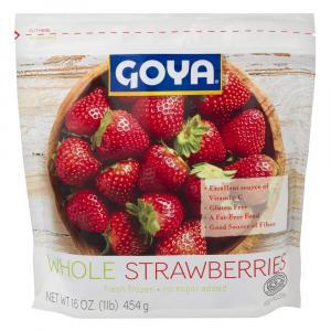 Goya Frozen Whole Strawberries