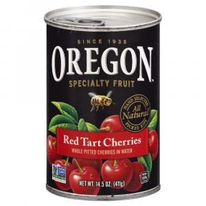 Oregon Red Tart Pitted Cherries