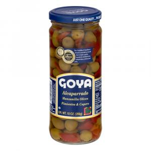 Goya Capers with Pimentos